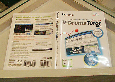 Roland V-Drums Tutor DT-1 (Drum Tutor Software) by free shipping to worldwide