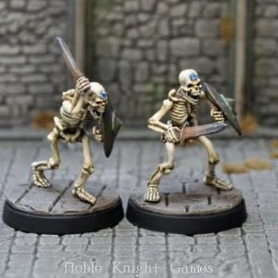 Otherworld Miniatures UD Series 28mm Sapphire Skeletons Pack MINT