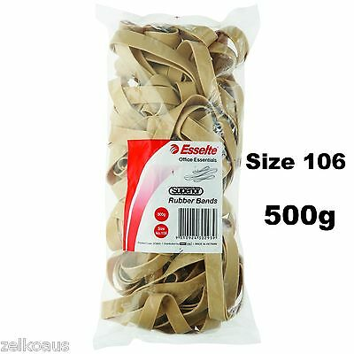 Esselte Rubber bands 500g Size 106 No106 bulk large pack 37893