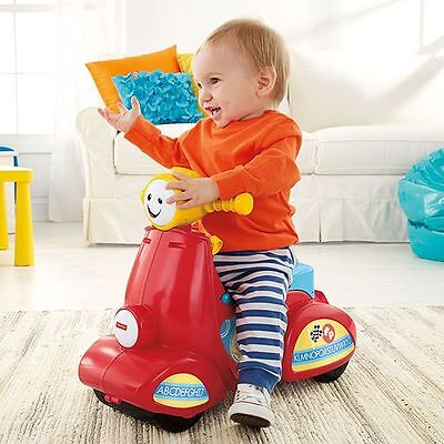 Fisher-Price Laugh & Learn Smart Stages Scooter Brand New with 50 plus learning
