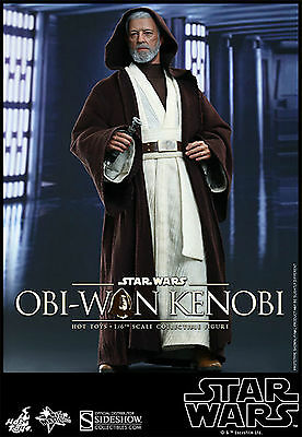 Sideshow Hot Toys Star Wars A New Hope Mms283 Obi-Wan Kenobi 1:6 Figur Statue