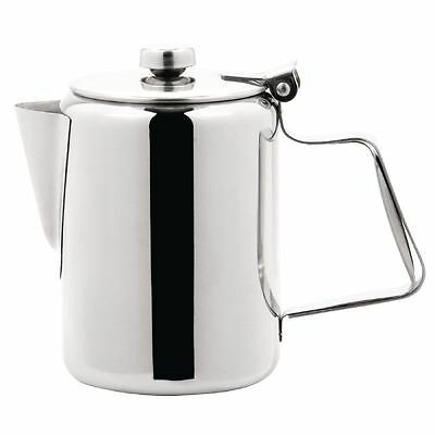 Olympia Concorde Coffee Pot Tea Cookware Infuser Kitchen Stainless Steel