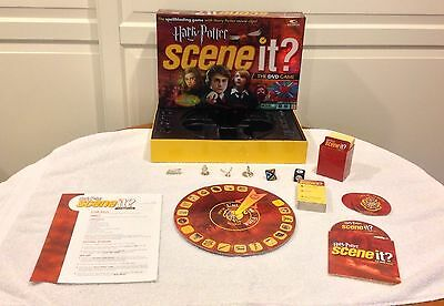 SCENE IT?  Harry Potter DVD Game by Mattel - MINT Some Pieces Sealed