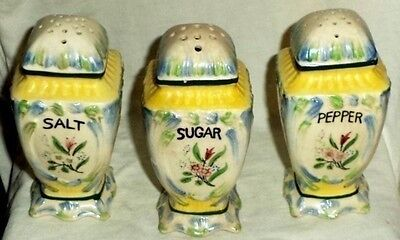 Muffineer Sugar Shaker Salt & Pepper Made In Japan