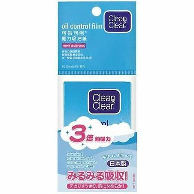 [BUY 5 GET 1 FREE] Clean & Clear BLOTTING PAPER OIL CONTROL 60 SHEETS