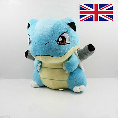 "11"" 28cm New Pokemon Blastoise Plush Toy Soft Stuffed Doll Figure Kids Gift"