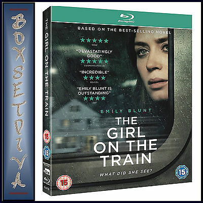 THE GIRL ON THE TRAIN - Emily Blunt **BRAND NEW BLU-RAY***