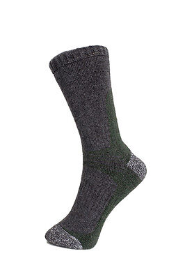 3 pairs - walking sock - merino wool - highlander - grey- ladies 4-7