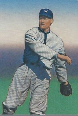 2000 Legends of Baseball #3408i Walter Johnson FDC postcard by USPS