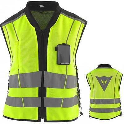 New Model Fluo Yellow Dainese Reflective  Motorcycle Vest