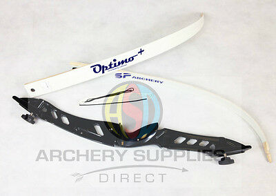 "Core Archery Pro Take Down Complete Recurve Bow Black 68"" Bow Length"