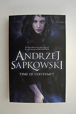 Time of Contempt Andrzej Sapkowski Book The Witcher Series Science Fantasy New