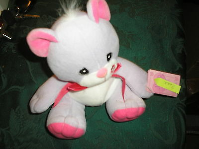 Precious Moments Tender Tails Lavender Bear w/ Tag
