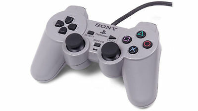 PS1 Sony Playstation 1 - Official Dual Shock Controller Pad - Tested Working