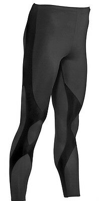 New CW-X Expert Compression Tights Men Running Pants Sports Black Large or XL