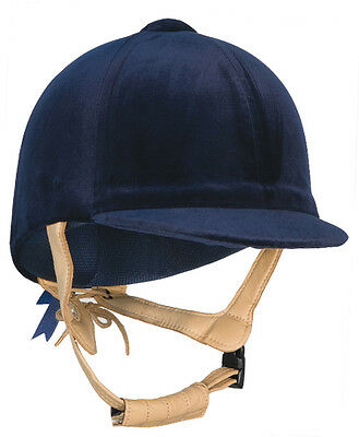 New Champion CPX3000 deluxe Velvet Horse Riding Hat Helmet PAS015.2011 Showing