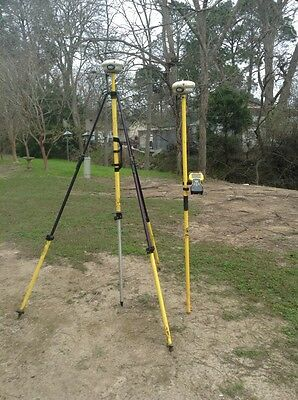 Trimble R8 model 3 base and rover w/TSC2
