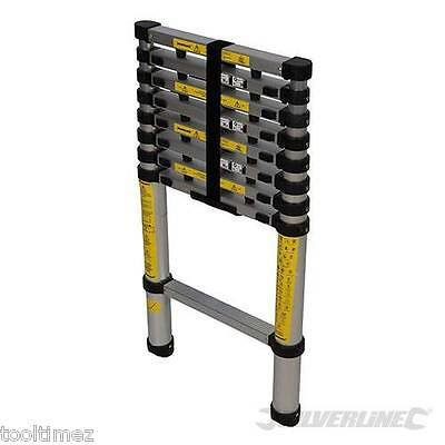 Telescopic Ladder 2.6 meter long 9 steps for plumber bulider 452123