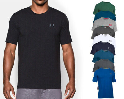 Under Armour T Shirt CC Left Chest Lockup - HG Heatgear charged cotton Funktion