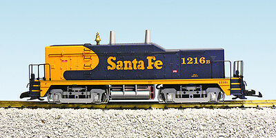 USA Trains 22004 G Scale NW2 Diesel Switcher Locomotive Santa Fe calf blue yello