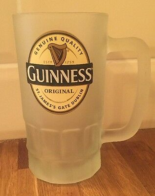 Guinness Frosted Beer Glass