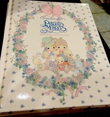 1990 Grandmother's Precious Moments Memory Book Markings from Thomas Nelson