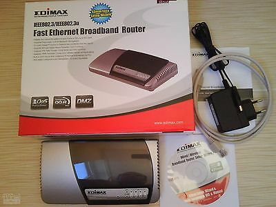 Fast Ethernet Broadband Router BARGAIN PRICE