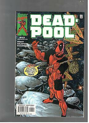 Deadpool #43 Extremely High Grade 9.6/9.8 Nm/mint