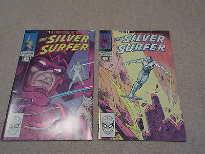 The Silver Surfer-Epic / Marvel Comics, No's 1 & 2  Limited Series from 1988