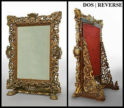 Large and important Louis XV style psyché MIRROR