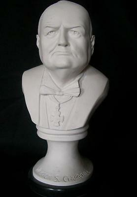 English Made Marble Bust Of Sir Winston Churchill