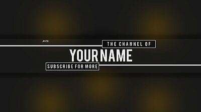 Professional Youtube Logo And Banner