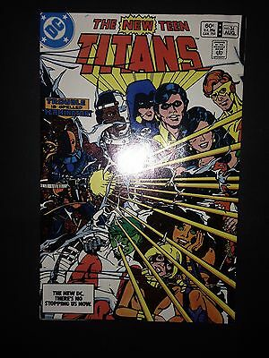 The New Teen Titans #34 (1983) (FN) (1st Adeline Kane)