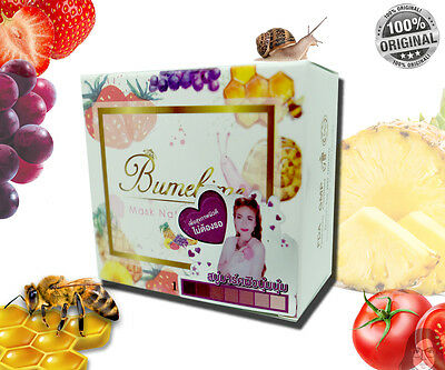BEST SELLER MASK NATURAL SOAP BUMEBIME BRIGHTENING WITH FRUIT&SNAIL EXTRACT100g