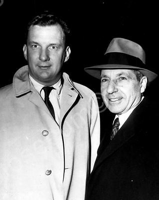 Frank Costello Slot King & Lawyer Ed Williams Classic 8 by 10 Reprint Photograph