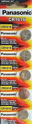 5 pack Panasonic CR1616 Lithium Coin Cell Battery DL1616 ECR1616