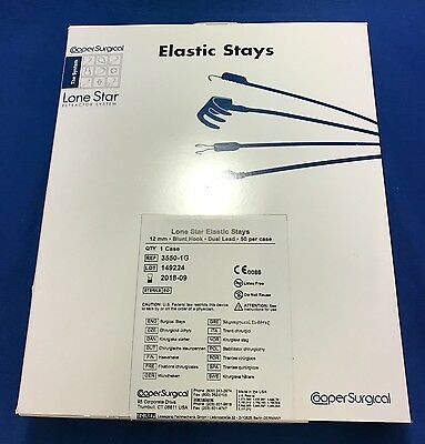 Cooper Surgical Lone Star Elastic Stays Reference: 3550-1G - Case of 50 -In Date