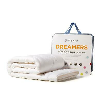 Mini Jumbuk Dreamers Kids Wool Rich Quilt - Single Free Shipping!