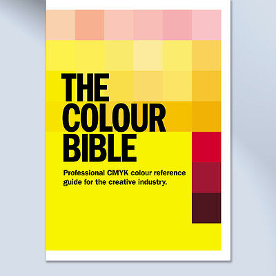 CMYK Colour Swatch Pantone Matching Book for Creative Graphic Design