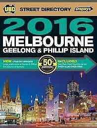 Melbourne Street Directory 50th 2016  By UBD Gregorys
