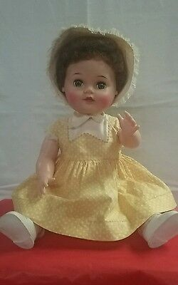"ANTIQUE 1959 IDEAL""BABY COOS"" Doll-#OB-19-2- Ex/ Body Condition,Original Clothes"