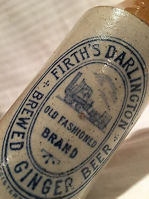 Stunning Train Pictorial Blue Print Ginger Beer