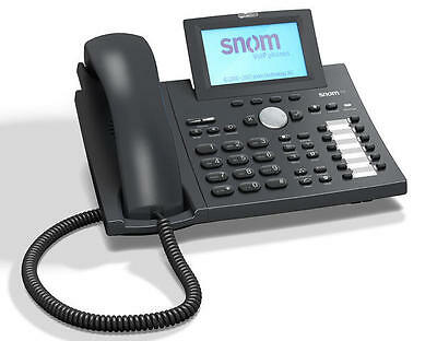 Snom 370 SIP IP VoIP SIP Phone *Grade A* inc Next Working Day Delivery