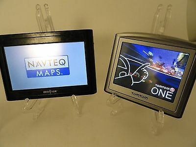 ~ Lot of 3 NON-Working GPS's Units INSIGNIA, GARMIN, TOMTOM for repair or parts