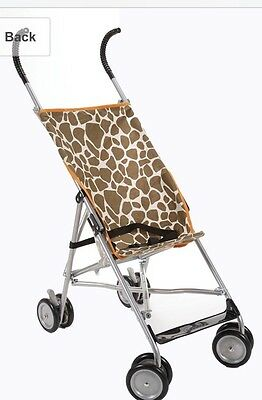Cosco Umbrella Stroller Giraffe Yellow And Brown Used Baby Travel ...