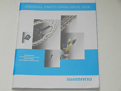 New Shimano Original Parts Catalog 2016 Technical Data 73page Complete List Tips