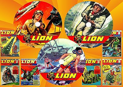 Lion Comic Weekly On Three Dvd Roms