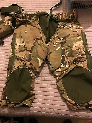 Ballistic Trousers And Nappy With Kevlar Fillers & Webbing Belt