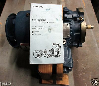 Hazardous Location 1Hp, 1745 RPM, TEFC, 143 TCVZ Siemens Motor