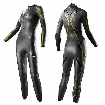 New 2XU Women Project X X:3 Wetsuit Tri Triathlon Medium 5'3- 5'9  FREE SHIP USA